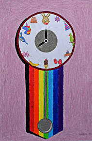 Saanvi M.S. Age_ 8  Magic Clock Size_ 66