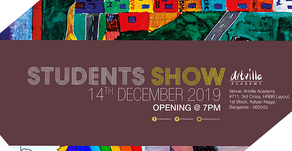 I Think,Therefore I Am | Student Show December 2019