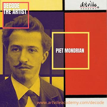 Piet Mondrian l Saturday 4:30pm l Sunday 2pm