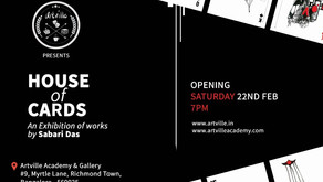 House of Cards | Exhibition of Works by Sabari Das