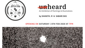 Unheard | Exhibition of Works by Shanith M and Sabari Das