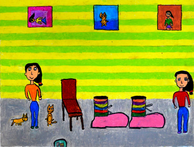 Aakanksha Gowda Age_ 8  Girls and Boots