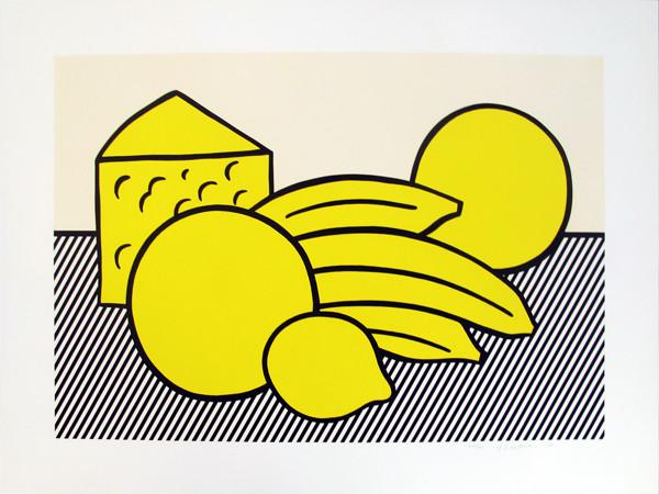 Roy Lichtenstein - Yellow Still Life, from Six Still Lifes