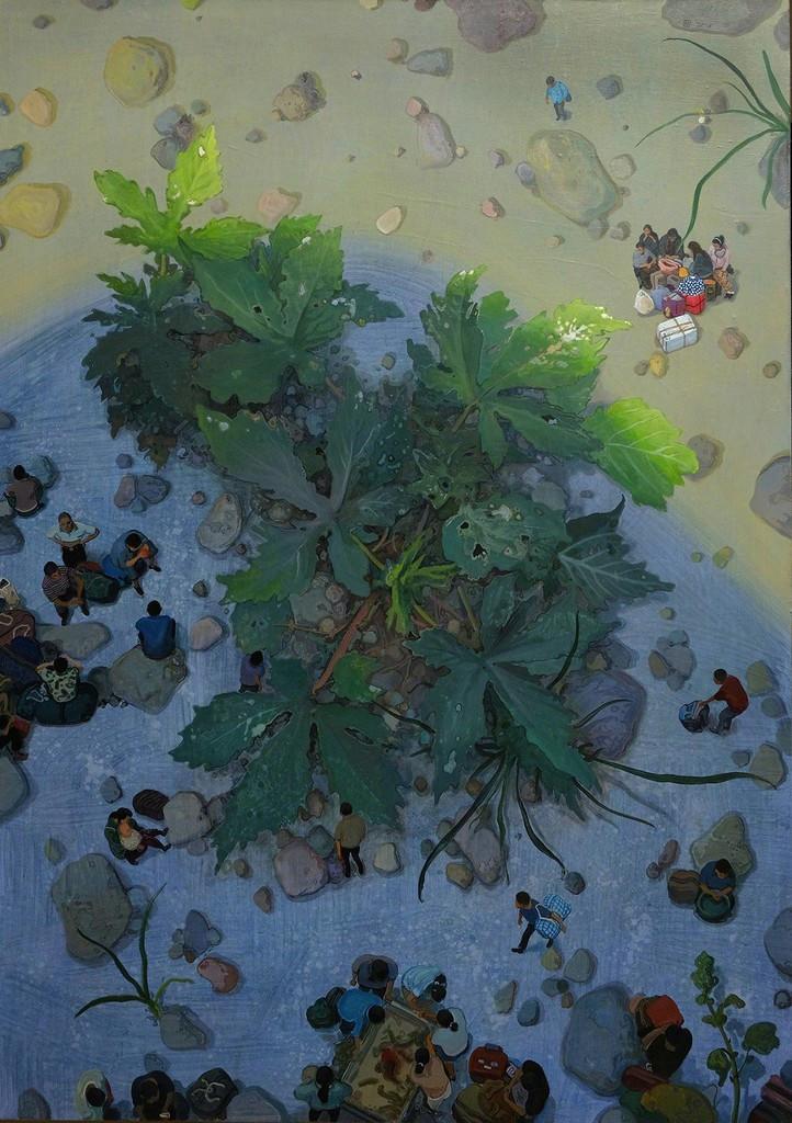 Zhou Jinhua - Wild Grass No.4