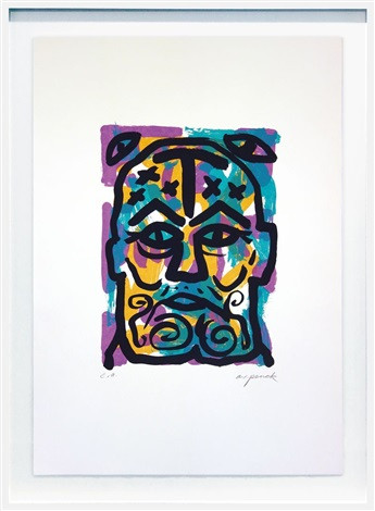 A.R. Penck - Selbstportrait