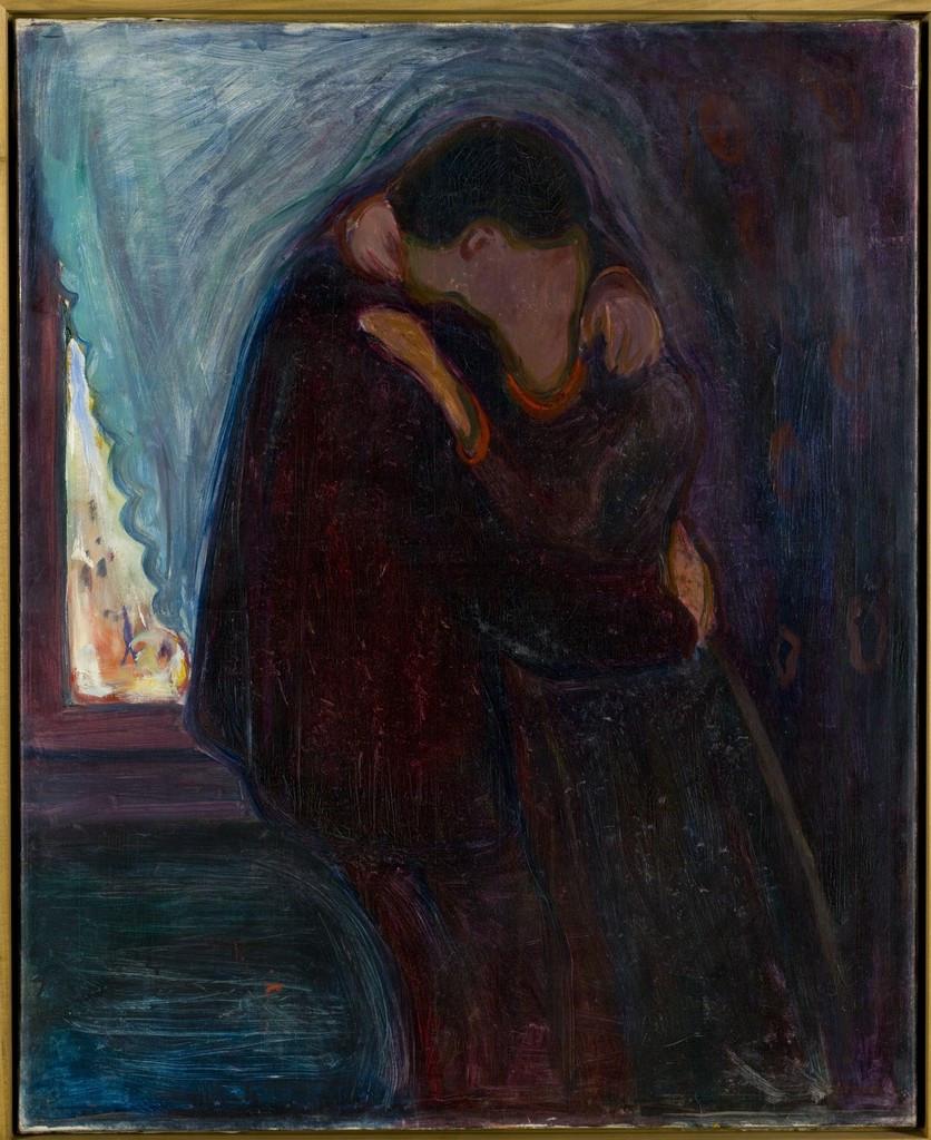 Edvard Munch - Kyss (Kiss)
