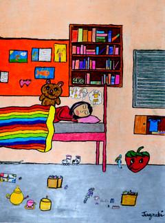 Jagrati Naik Age_ 9  Dream World Size_ 5