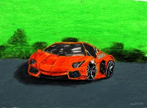 Sattvik Aravind Age_ 8  Ferrari Size_ 50