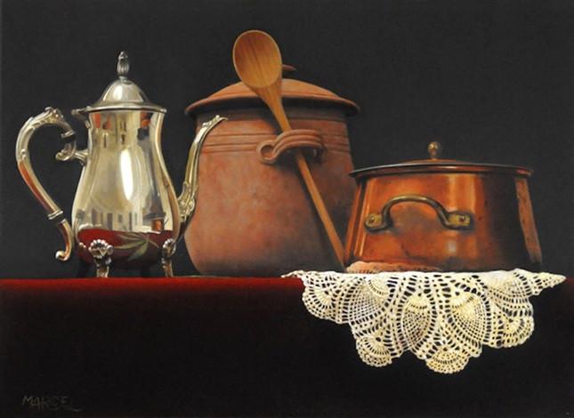 Marcel Franquelin - Still Life with Pot