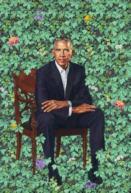 Kehinde Wiley - Barack Obama