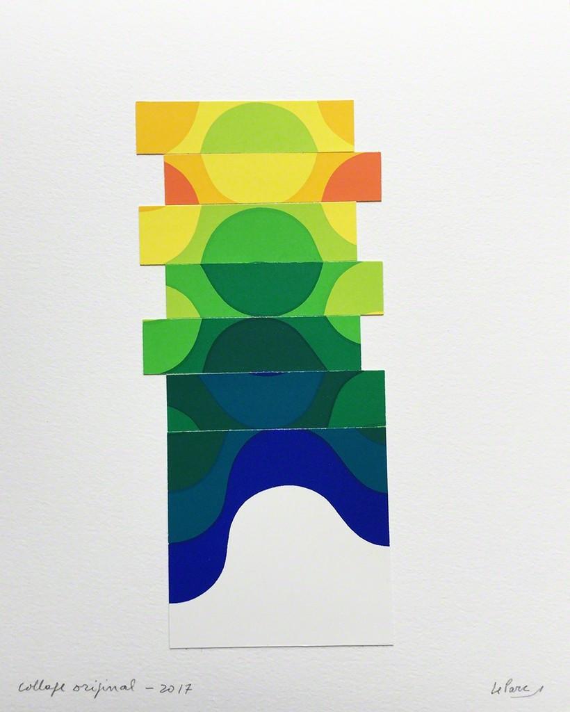 Julio Le Parc  - Collage #9