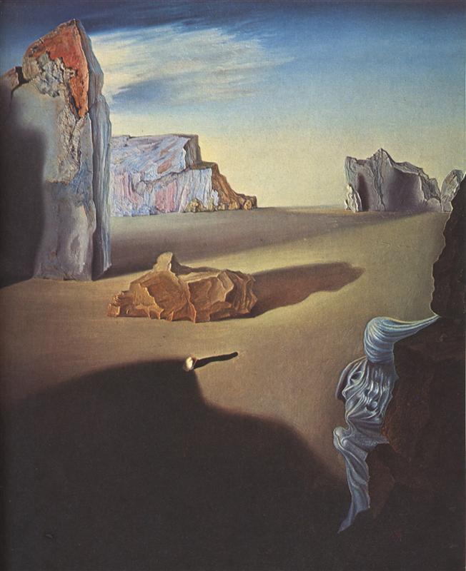 Salvador Dali - Shades of Night Descending