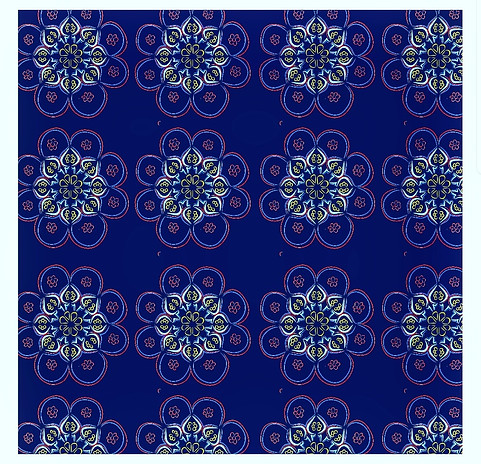 This pattern is made on illustrator.