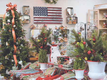 Here Comes Christmas! Garden Treasures is ready for the Season