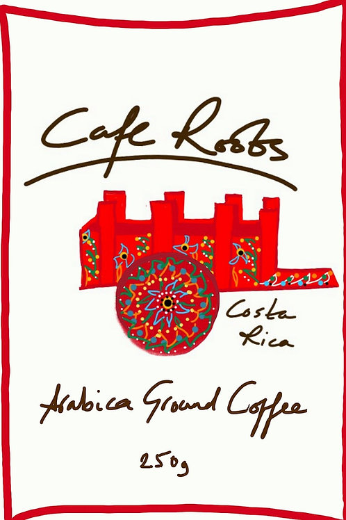 costa rica single origin coffee ground
