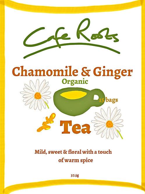 Chamomile & Ginger Tea (Organic)