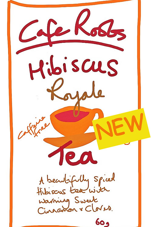 Hibiscus (Sorrel) ROYALE  Cinnamon & Clove