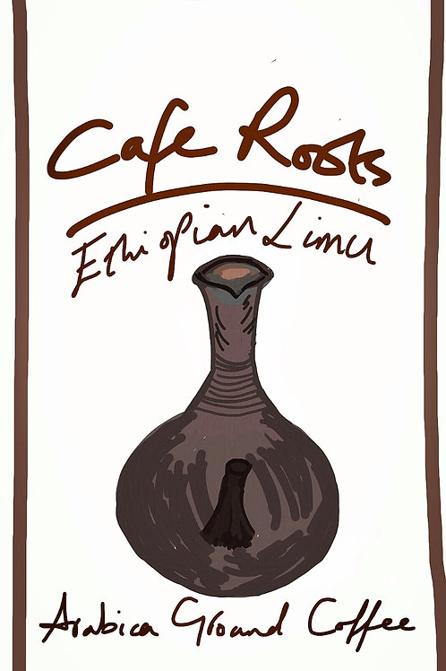 Ethiopian Limu ground coffee