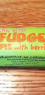 Raw HEMP FUDGE Pie 60g