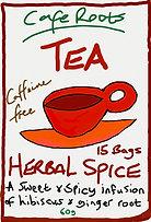 Hibiscus / Sorrel & Ginger Tea