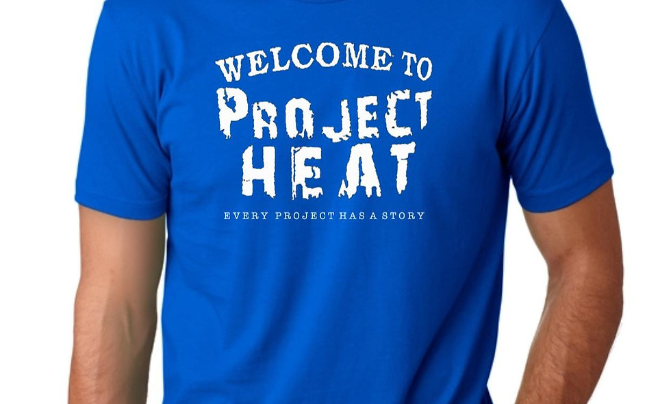 Royal Project Heat Logo Tee