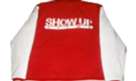 Show Up Films Red/White Varsity Jacket