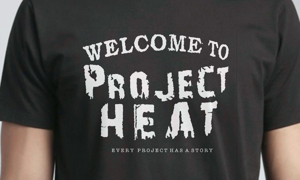 Black Project Heat Logo Tee