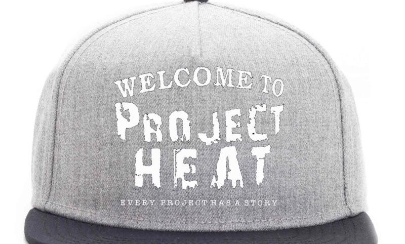 Grey Project Heat Snapback