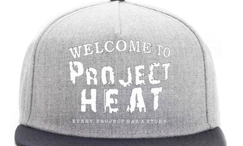 Grey Project Heat Snapback