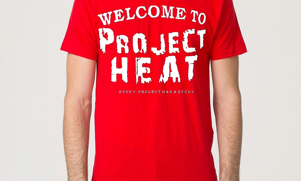 Red Project Heat Logo Tee