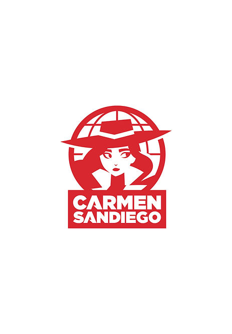 Carmen Sandiego Title Page