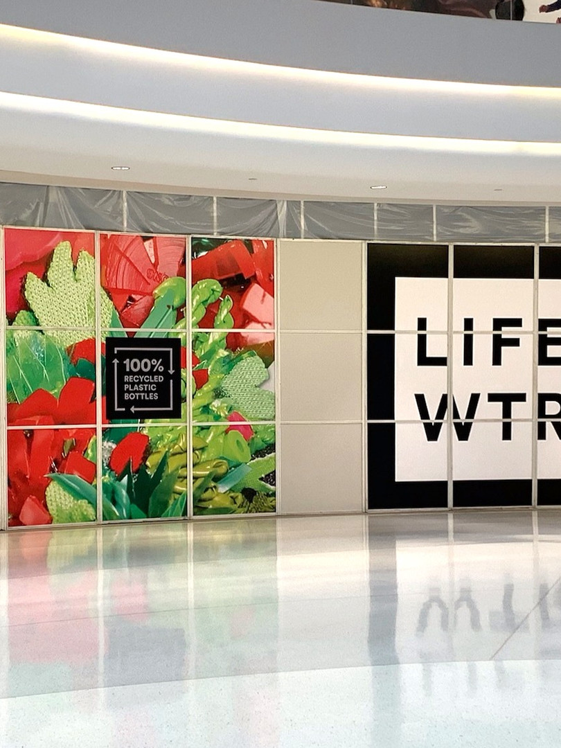 LifeWTR 100% Recycled Atrium
