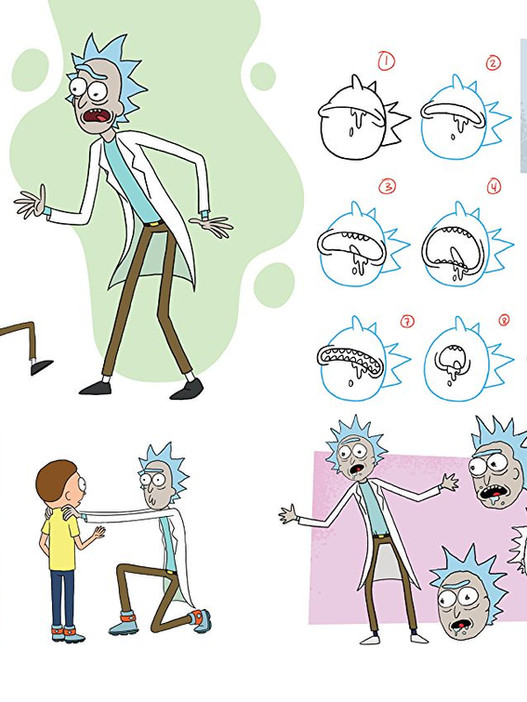 The Art of Rick and Morty interior