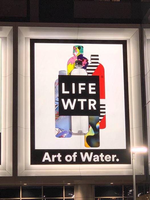 LifeWTR MOA Billboard