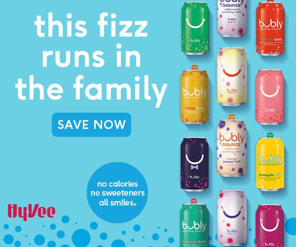 Bubly HyVee Digital Ad