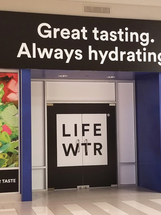 LifeWTR 100% Recycled Storefront