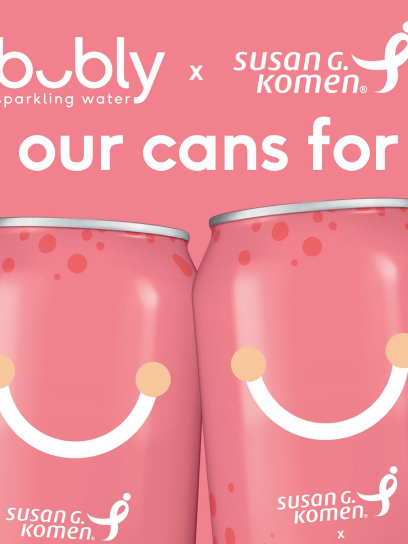 Bubly + Susan G. Komen Campaign