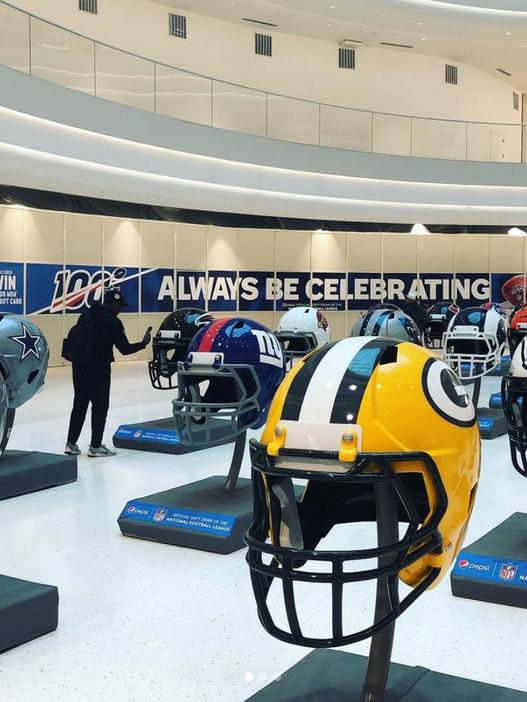Pepsi NFL 100th Anniversary Atrium