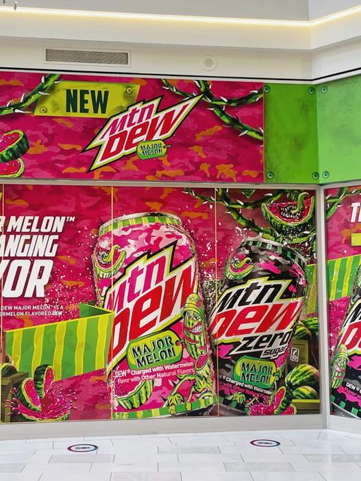 Mountain Dew Major Melon Storefront