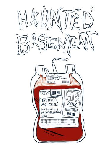 Haunted Basement Poster