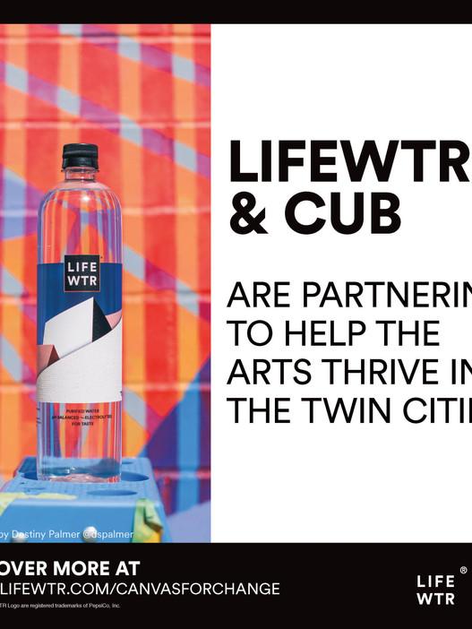 Lifewtr & Cub TwinCities