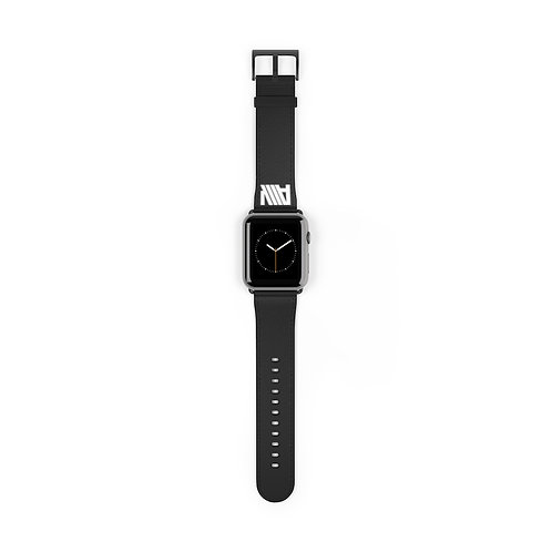 Lean Back Black Watch Band