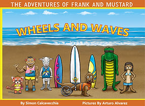 Candy Monster Books -Wheels and Waves Co