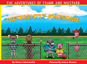 Candy Monster Books -Differently Awesome