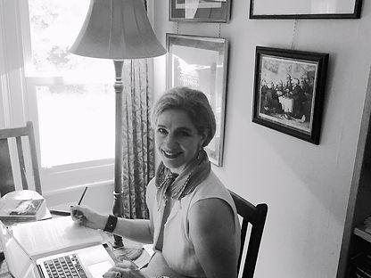 Portrait of author Catherine Clover