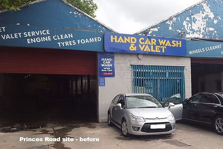 Princes Road car wash