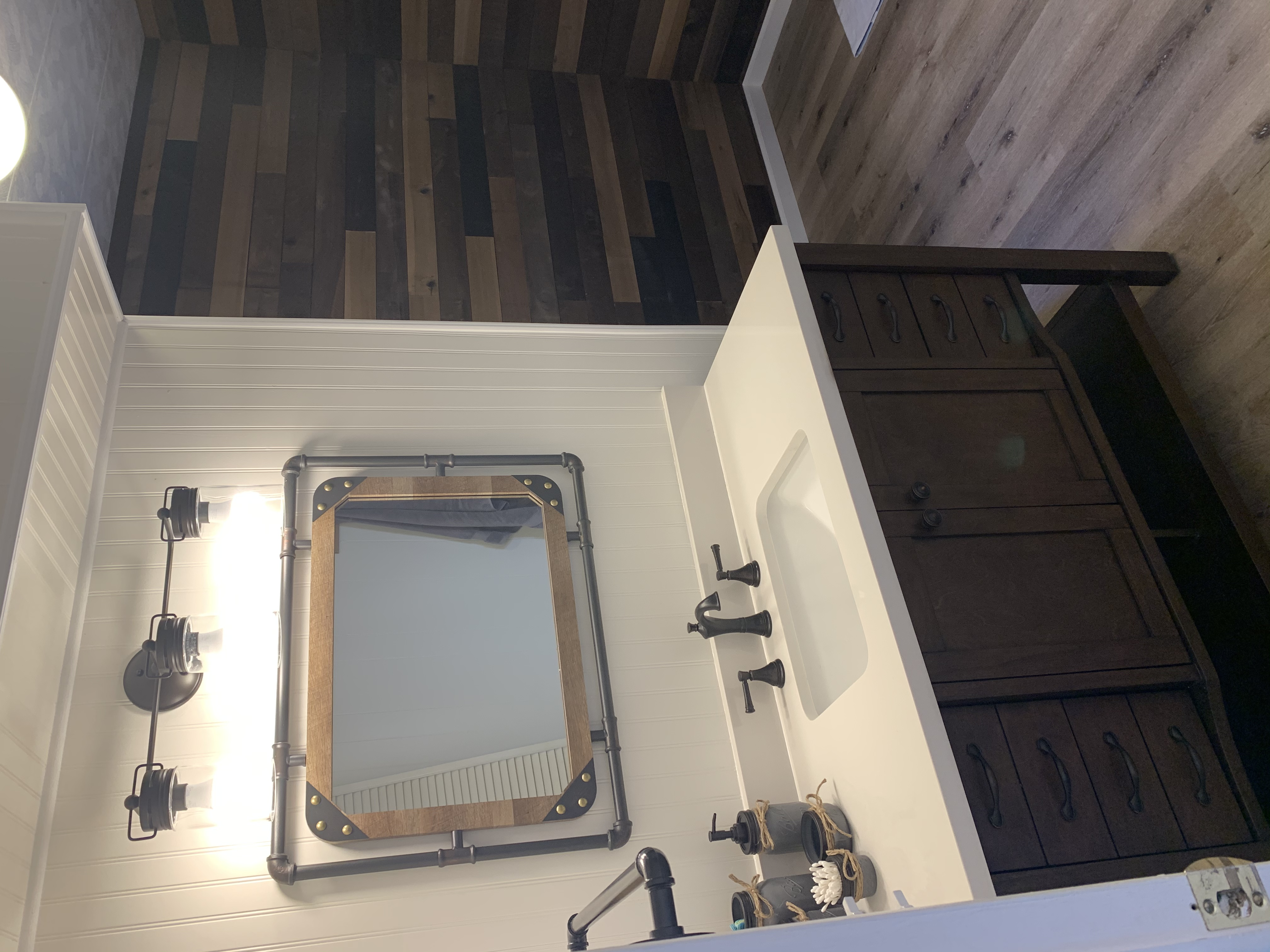 Mobile Home Bath Room Remodels