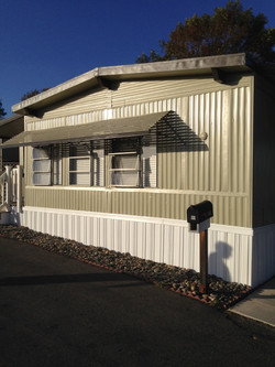 Painting Mobile Home
