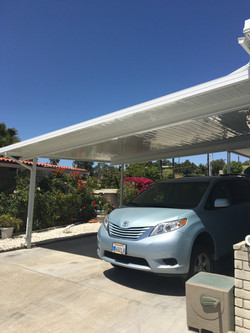 New Carport Awning