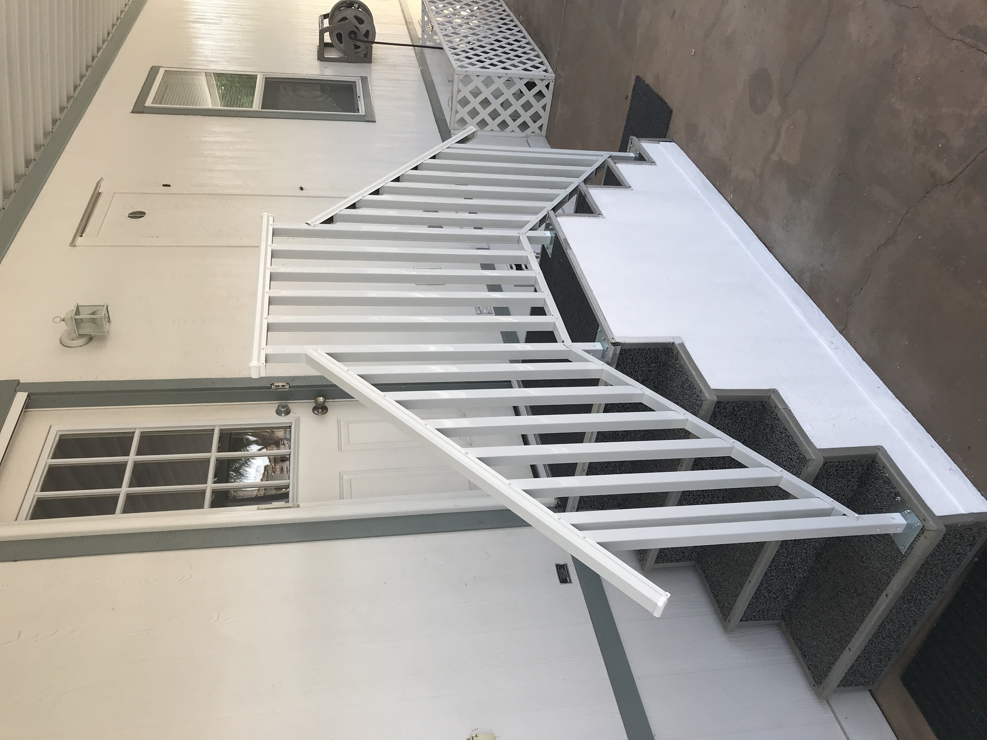 Aluminum Railing for Steps.